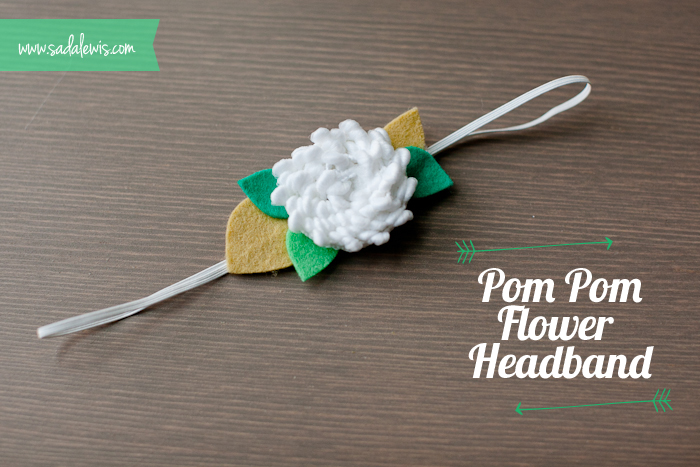 How-to-make-a-DIY-pom-pom-flower-headband