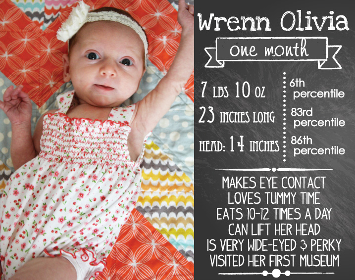 Wrenn - one month