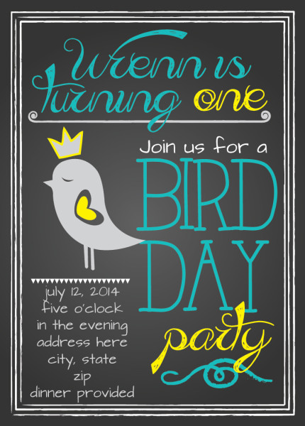 bird day party - blog