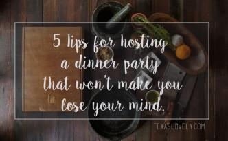 Texas Lovely- 5 Tips
